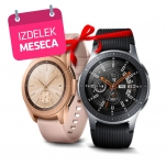 Komplet Pametna ura Samsung Galaxy Watch SM-R810, 42 mm, Rose Gold in SM-R800, 46 mm, Silver