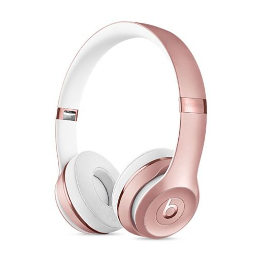 Slušalke Apple Beats Solo 3 Wireless - rožnato zlata