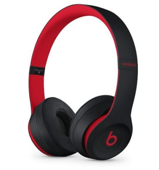 Slušalke Apple Beats Solo 3 Wireless - črno rdeča