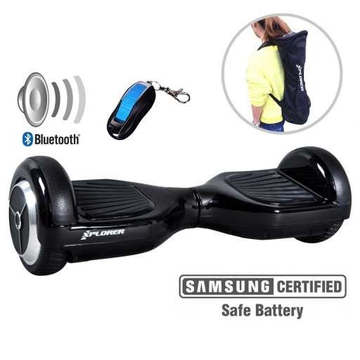 Hoverboard Xplorer City black 6