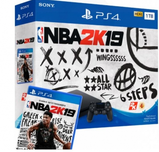 Playstation PS4 1TB slim + igra NBA 2K19