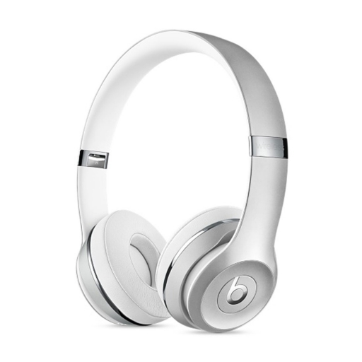 Slušalke Apple Beats Solo 3 Wireless - srebrna