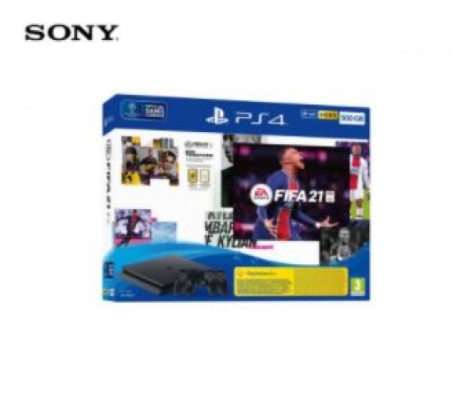 Playstation PS4 500GB set + FIFA 21/DS4