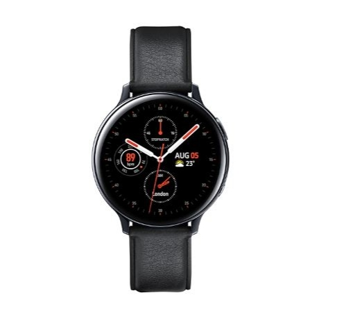 Pametna ura Samsung Galaxy Watch Active 2 Steel 44 BT black