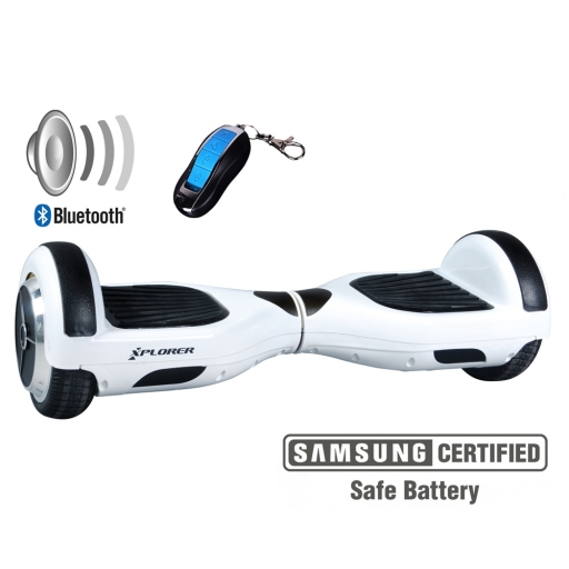 Hoverboard Xplorer City white 6