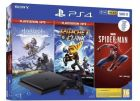 Igralna konzola Sony Playstation PS4 500GB set + Spiderman/HZD CE/R&C