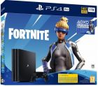 Igralna konzola Playstation 4 Pro 1TB, črna + VCH Fortnite