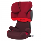 Avtosedež CYBEX Solution X-Fix - Rumba Red/Dark Red